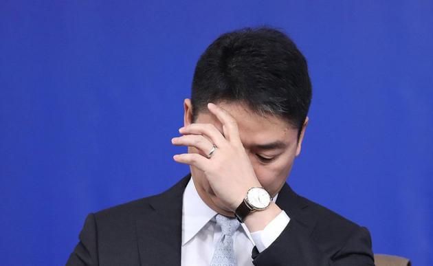 刘强东身陷丑闻后身价暴跌近一半