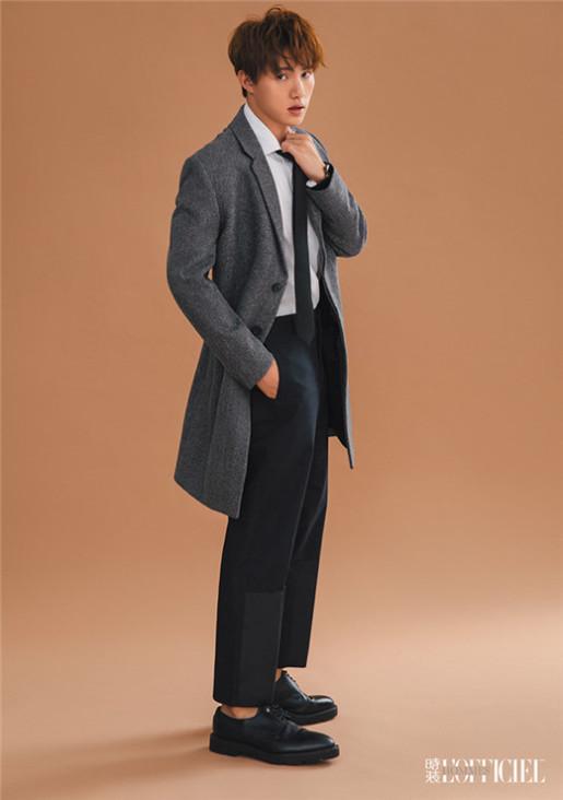 黄圣池《时装男士》大片曝光_英伦风彰显型男魅力